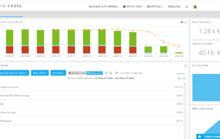 azure costs screenshot