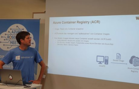 martin brandl at azure meetup